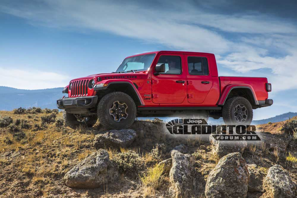 2020 Jeep Gladiator JT Pickup 1