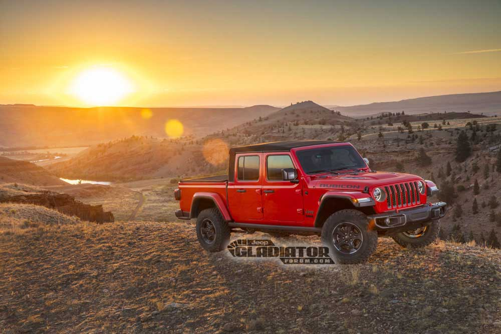 2020 Jeep Gladiator JT Pickup 3