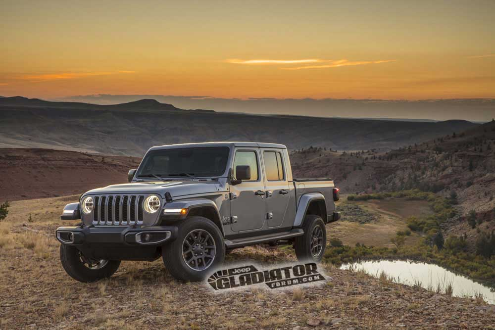 2020 Jeep Gladiator JT Pickup 4