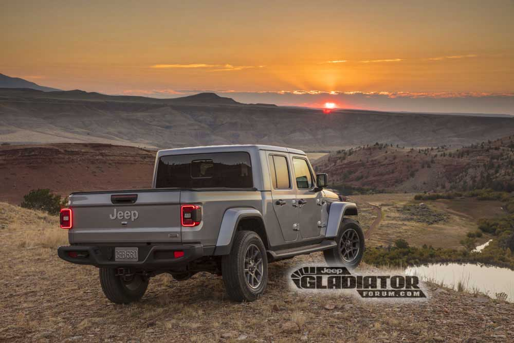 2020 Jeep Gladiator JT Pickup 5