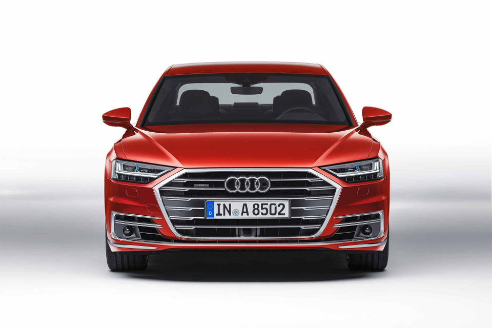 2019 Audi A8 front view