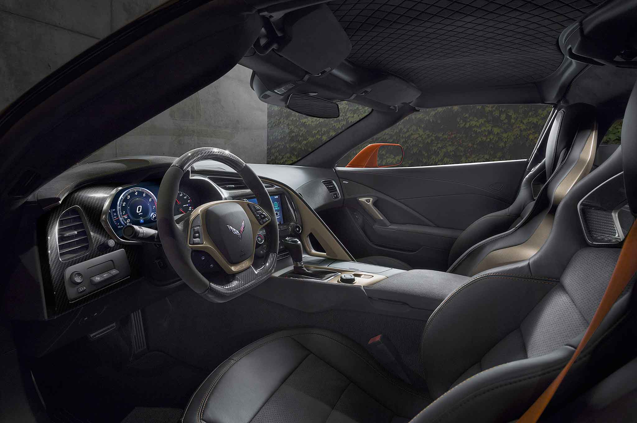 2019 chevrolet corvette ZR1 interior sebring orange