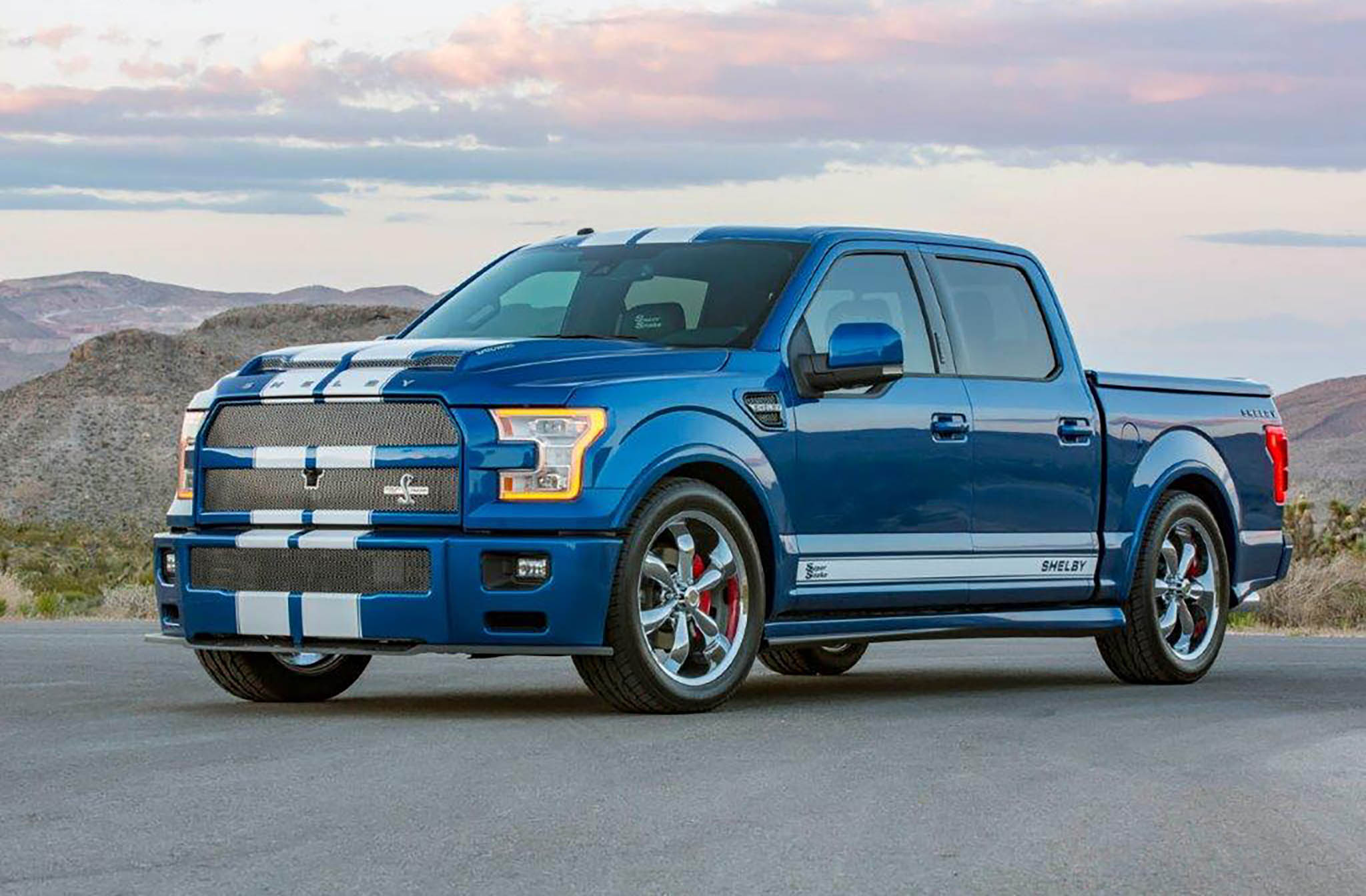 Shelby F 150 Super Snake Truck Front