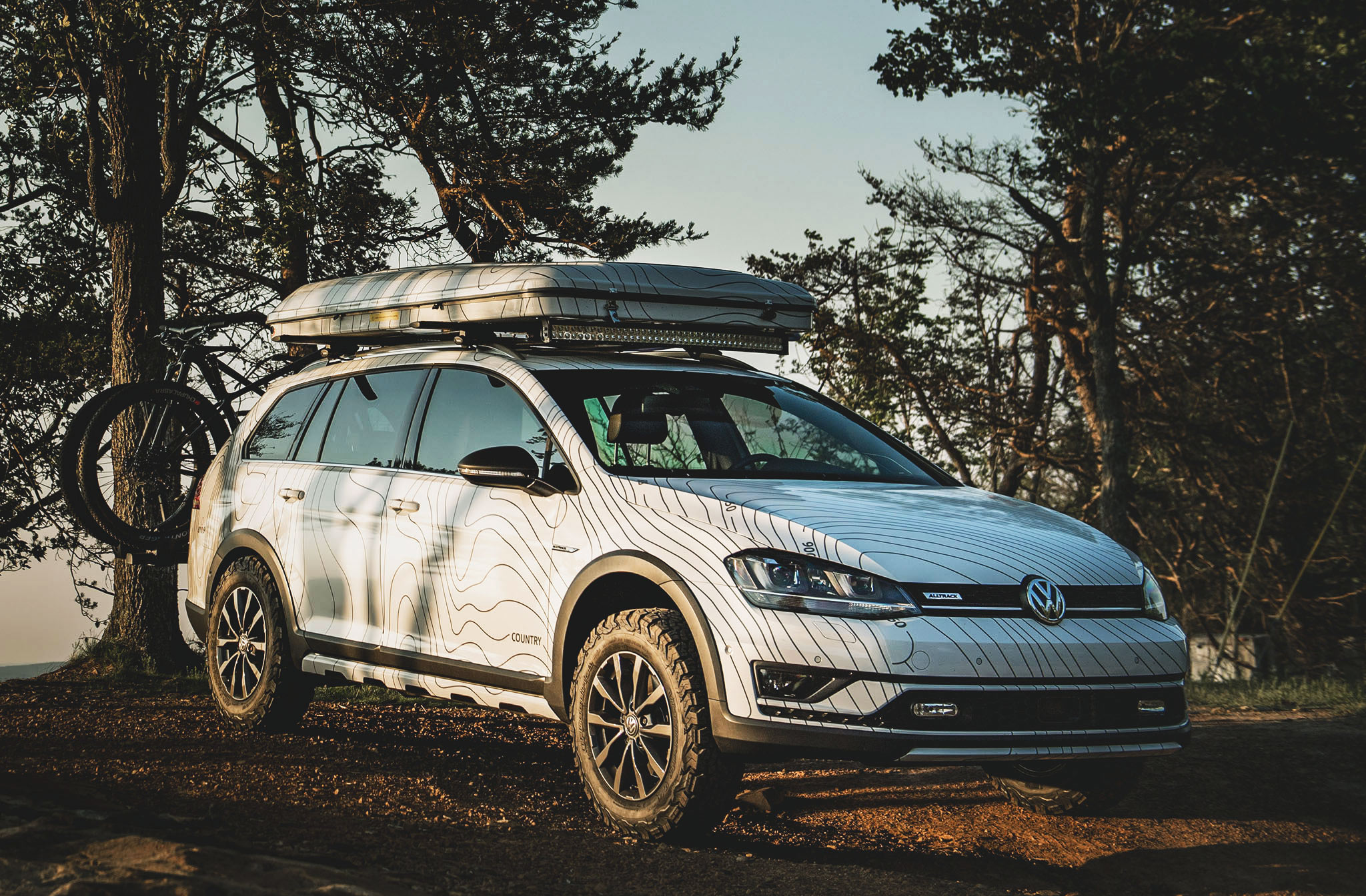 golf alltrack country concept 7172